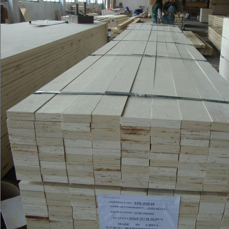 E2 glue poplar LVL slat for packing