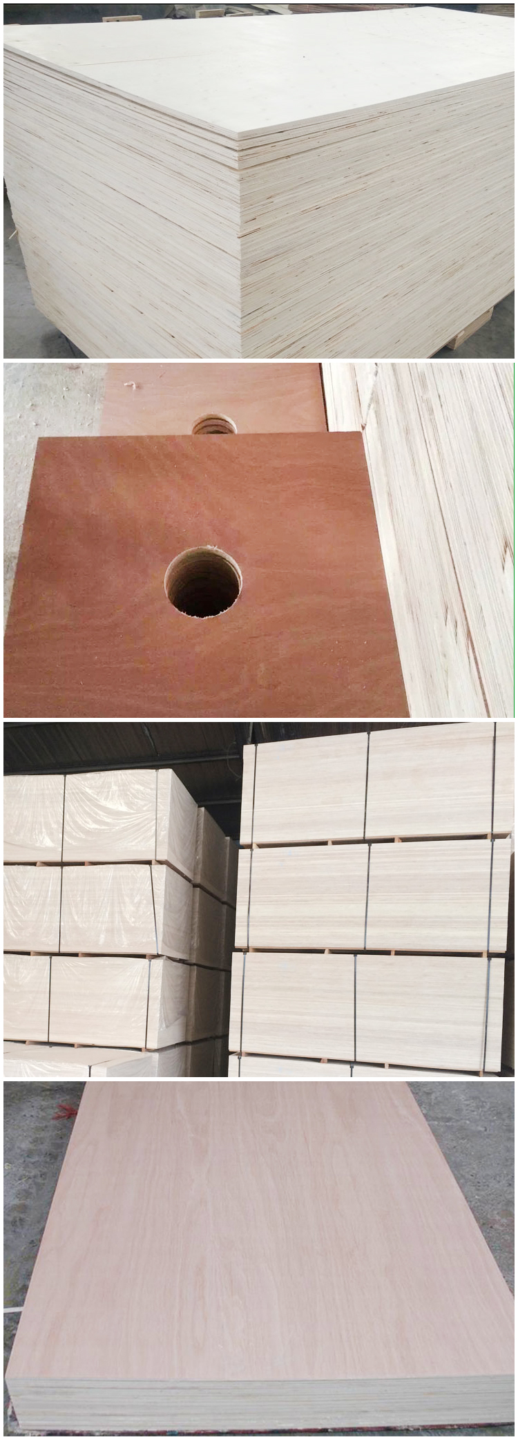 12mm poplar core plywood for packing(图2)